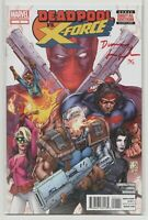 Deadpool vs X-Force #1 SIGNED by Duane Swierczynski in Blood Red (Marvel) DF