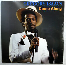 GREGORY ISAACS Come along LP SEALED reggae