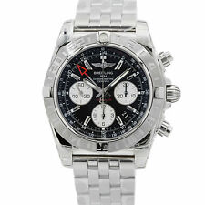 Breitling Chronomat 44mm GMT Auto Date Chrono Steel Mens Watch AB042011/BB56