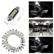 25pcs Super Bright Car Interior LED Light Kit for Map Light License Plate Light
