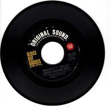 LITTLE BOBBIE REY Rockin J Bells VG+ 45 RPM REISSUE