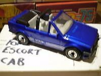 MATCHBOX  FORD ESCORT  CERCA 1990  RARE IN MINT AND BOXED