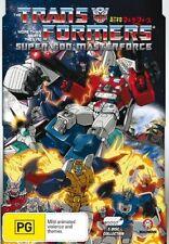 Transformers - Super God Masterforce (DVD, 2008, 5-Disc Set) - Region Free
