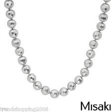 Edle Luxus  Kette Collier MISAKI silberfarbene X-treme Lustre Perlen