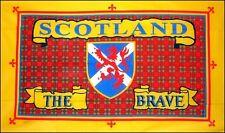 SCOTLAND THE BRAVE FLAG 5 X 3 SCOTTISH SCOTS EDINBURGH