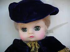 """Miss Elsa Royal 13"""" Doll Royal House Of Dolls Blue Velvet Detail New In Box"""