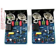 2pc QUAD405 CLONE MJ15024 Stereo 100W+100W Completed Board+Kühlkörper