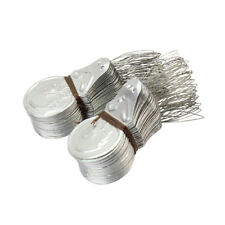 50pcs Machine Tool Insertion Stitch Bow Wire Sewing Needle Threader A