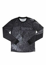 Sombrio Grappler Race Jersey Mountain Bike Cycling Top Black/Cedar Size XS New