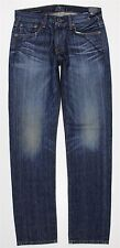 NWT Lucky Brand 221 Original Straight Blue Jeans MEN'S 31 x 34 7M12165 Whiskered