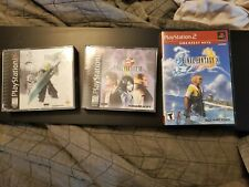 Final Fantasy 7, 8 Ps 1, and 10 Ps 2
