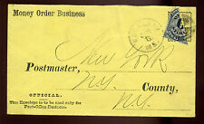 Scott #O50a Post Office Bisect on Cover  used as 3 Cent Use (ex. Curtis)