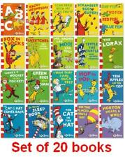 20 Books Dr.Seuss Interesting Story Children's Picture English Books Kids Gift