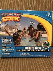 Splash N Score Washer Toss Inflatible Pool Tool