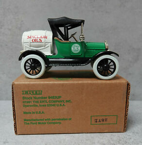 ERTL # 9483UP FORD  MODEL T RUNABOUT SINCLAIR OILS BANK No 3 IN THE SERIES MB