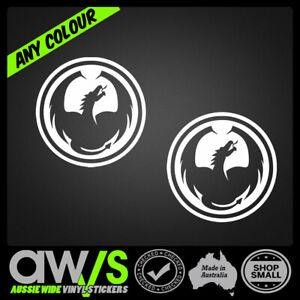 Dragon Optics Vinyl decal sticker Car Truck window 4x4 4wd Moto mx ute