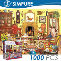 Puzzle 1000 Pieces Jigsaw Animals Kids Adult  Children Toy Gift Decompression US