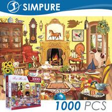 Puzzle 1000 Pieces Jigsaw Animals Kids Adult  Children Toy Gift Decompression US