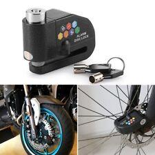 Disc Brake Motorcycle Bike Lock W/ 110db Loud Alarm Anti Theft Security Lock