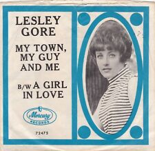"""Lesley Gore """"My Town My Guy And Me"""" Mercury 72475 (Record = VG++)(PS = VG++)"""