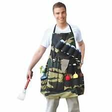 Apron Holder Accessories Grill BBQ Adjustable Strap Pockets Tools Organizer Home