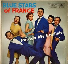 "THE BLUE STARS ""PARDON MY ENGLISH"" VOCAL JAZZ 50'S LP MERCURY 20329"