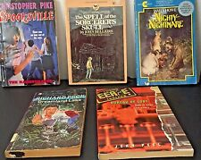 Scary Kids' Books (Mix Lot of 5) by R Peck, J Howe, j Bellairs, C Pike, J Peel