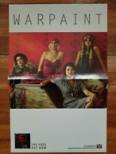 Warpaint The Fool promo poster Rough Trade St Vincent Angel Olsen