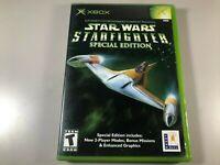 Star Wars Starfighter Special Edition CIB Original Xbox