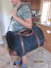 NEW $498 Polo Ralph Lauren  Overnight Travel Gym Canvas Bag - NAVY BLUE