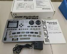 Zoom Rt-323 Rt323 Rhythmtrak Drum-Machine Basso Percussioni Usato con Box Japan