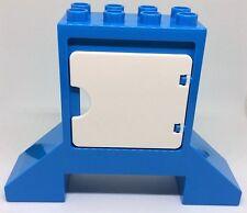 LEGO DUPLO 10840 Jahrmarkt Hoher Stein blau mit weißer Tür Auktion NEU