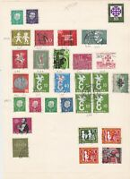 germany 1957-58 stamps page ref 17555