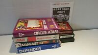 Atari 2600 Lot of 7 Games Mario Brothers Nostalgia Collection From 80's READ