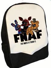 Cinq Nights at Freddy's Back Pack Sac à dos FNAF Gang Parfait pour école (BMS)
