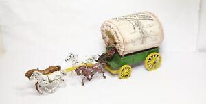 Morestone Wild West Covered Wagon - Good Vintage Original Model 1950s