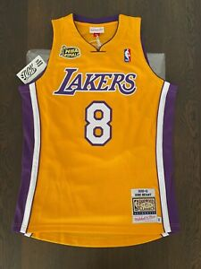Kobe Bryant Los Angeles Lakers 2000 2001 NBA Finals Mitchell & Ness Jersey 40 M