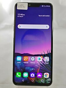 """LG G8 ThinQ LM-G820 128GB AT&T Wireless ONLY 6.1"""" Smart Cellphone Black X886"""