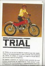 Montesa 49cc 75cc 125cc 238cc 305cc Cota und Trail Original Prospekt brochure