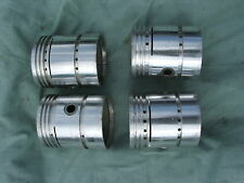 WELLWORTHY PISTONS SET FOR VAUXHALL REF 251 +40 THOU, 5/8 PIN, APPROX 64mm Dia