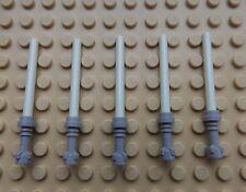 5 X De Star Wars Lego Mini Figura Nueva Brillan En La Oscuridad Sable De Luz saber