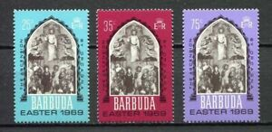 27543) BARBUDA 1969 MNH** Nuovi** Easter  Pasqua  3v