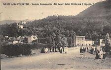 4828) BAGNI DELLA PORRETTA (BOLOGNA) VEDUTA PONTE DELLA VENTURINA (CAPANNE) VG.