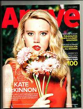 ARRIVE MAGAZINE-SUMMER/FALL  2016-KATE McKINNON-SATURDAY NIGHT LIVE-GHOSTBUSTERS