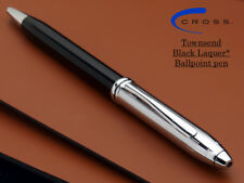 CROSS TOWNSEND  BLACK LACQUER TUXEDO BALLPOINT PEN