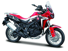 Honda Crf 1000 L Africa Twin DCT Red 1:18 From Maisto Motorcycle Model