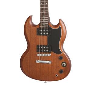 Epiphone SG-Special VE Electric Guitar, Vintage Worn Walnut (NEW)