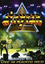Stryper: Greatest Hits Live in Puerto Rico (2007, DVD NEUF)