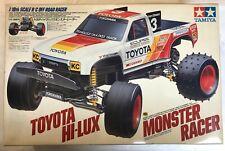 Vintage Tamiya Toyota Hilux Monster Racer (58086) - NIB