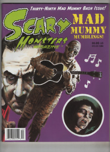 Scary Monsters Mag Mad Mummy Bash Issue June 2001 No.39 121020nonr